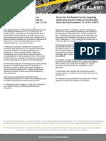 Tax Alert - Resolución N° 273.11 Normas relativas a la aplicación y registro de beneficios netos