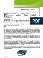 Roteador, Hub, Switch