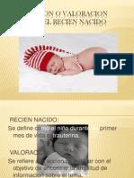 Presentacion Del Recien Nacido