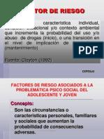 Factor de Riesgo y Proteccion