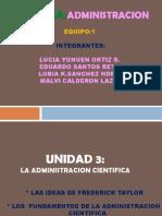 Unidad 3 Teorias Clasicas de Admin is Trac Ion