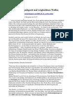 Strahlenfolter - Elektroimpulsgerät und vergleichbare Waffen - Martha-Mitchell-Effekt