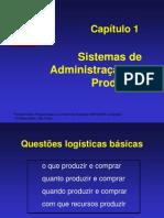 Cap 01 Sistemas de Administracao Da Producao