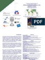 2010, CLP-UNLP, 1er seminario euro-argentino de historia de las redes masónicas atlánticas