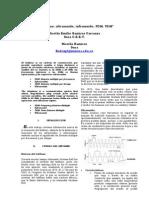 El teléfono, ultrasonido, infrasonido, FDM, TDM