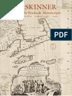 Fine Books & Manuscripts | Skinner Auction 2571B