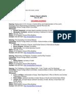 Public Policy Update 10-21-11