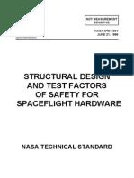 5001 Design & Test Factors of Safety