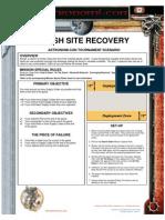 Crash Site Recovery Scenario v5.0.1.52