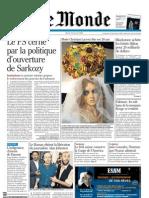 Le Monde 2007, 5 Iulie