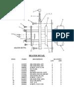 GBC 4250 Parts List