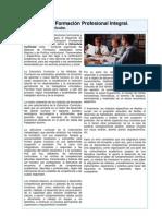 Unidad 1 - La Formación Profesional Integral