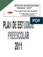 52367330 Plan de Estudios Preescolar Dolly