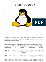 HISTORIA DO LINUX