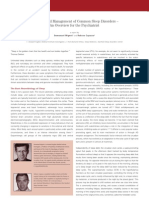 Diagnosis and Management of Common Sleep Disorders