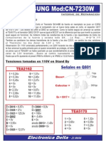 Informe Reparación Samsung CN7230W