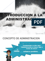 Introduccion a La Admin is Trac Ion