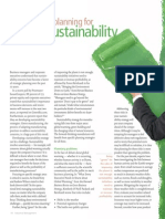 Strategic Planning for Sustainability