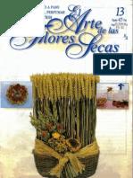 El Arte De Las Flores Secas Nº 13