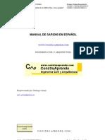 Consturaprende Manual de Sap 2000 - Calculo de Estructuras