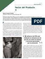 Indice Deflactor Del PIB