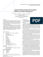 Production Planning With Hot Section Life Prediction for Optimum Gas Turbine Management