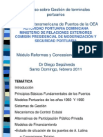Reformas y Concesiones Portuarias - SD (RD2011)
