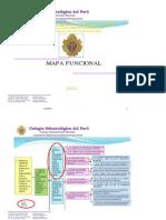 Mapa Funcional de certificación de competencias del cirujano-dentista