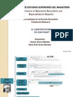 presentación de Piaget y el desarrollo cognitivo