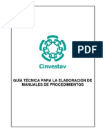 Guia Tecnica Manual de Procedimientos - Copia