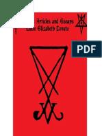 Satanic Articles and Essays Lucie Elizabeth Lovato