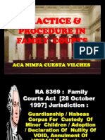 Practice and Procedure in Family Law
