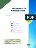 Perintah Dasar Di Microsoft Word