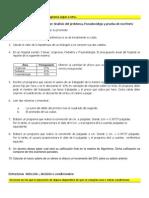 Ejercicios Estructuras Secuenciales Secuenciales y DecIsion