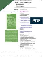 Filosofía ética Latinoaméricana V