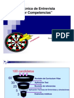 Microsoft Power Point - Entrevista Por Competencias Ppt