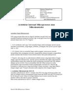 Arsitektur Internal Mikroprosesor Atau Mikrokontroler