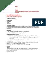 Isosorbide Nitrates