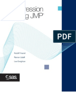SAS - Regression Using JMP