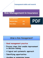 Final Banking and Insurance