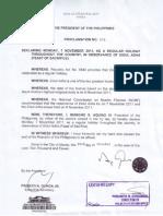 Proclamation 276