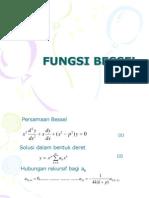 FUNGSI BESSEL ( fisika matematika II )