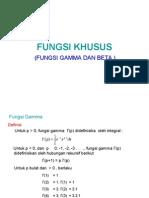 FUNGSI KHUSUS ( fisika matematika II )