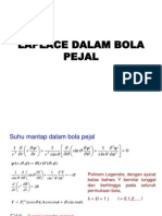 Laplace Dalam Bola Pejal ( fisika matematika II )