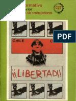 BOLETIN INFORMATIVO CEX - CUT. AGOSTO 1983