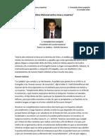 La Obra Misional Entre Vivos y Muertos - Fernando Vera