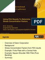Materials Methodology Stress Factors