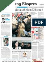Koran Padang Ekspres | Sabtu, 22 Oktober 2011