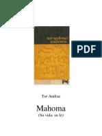 Andrae, Tor - Mahoma