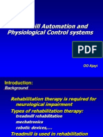 Treadmill Automation and Physiological Control